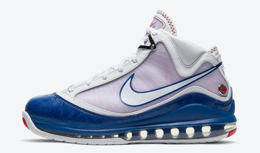 nike-lebron-7-dodgers-baseball-blue-sneaker-clothing-match