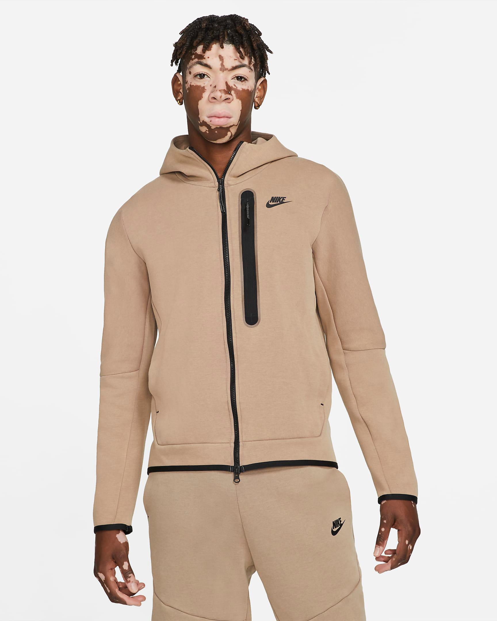 nike-taupe-haze-tech-fleece-hoodie
