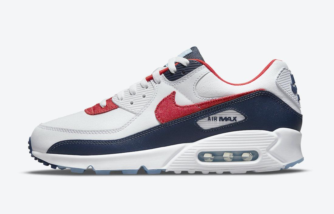 Nike-Air-Max-90-USA-Denim-DJ5170-100-Release-Date