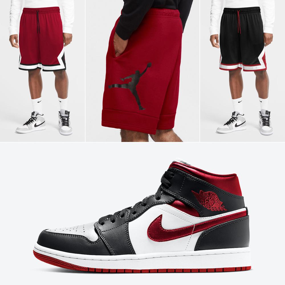 air-jordan-1-mid-metallic-gym-red-shorts