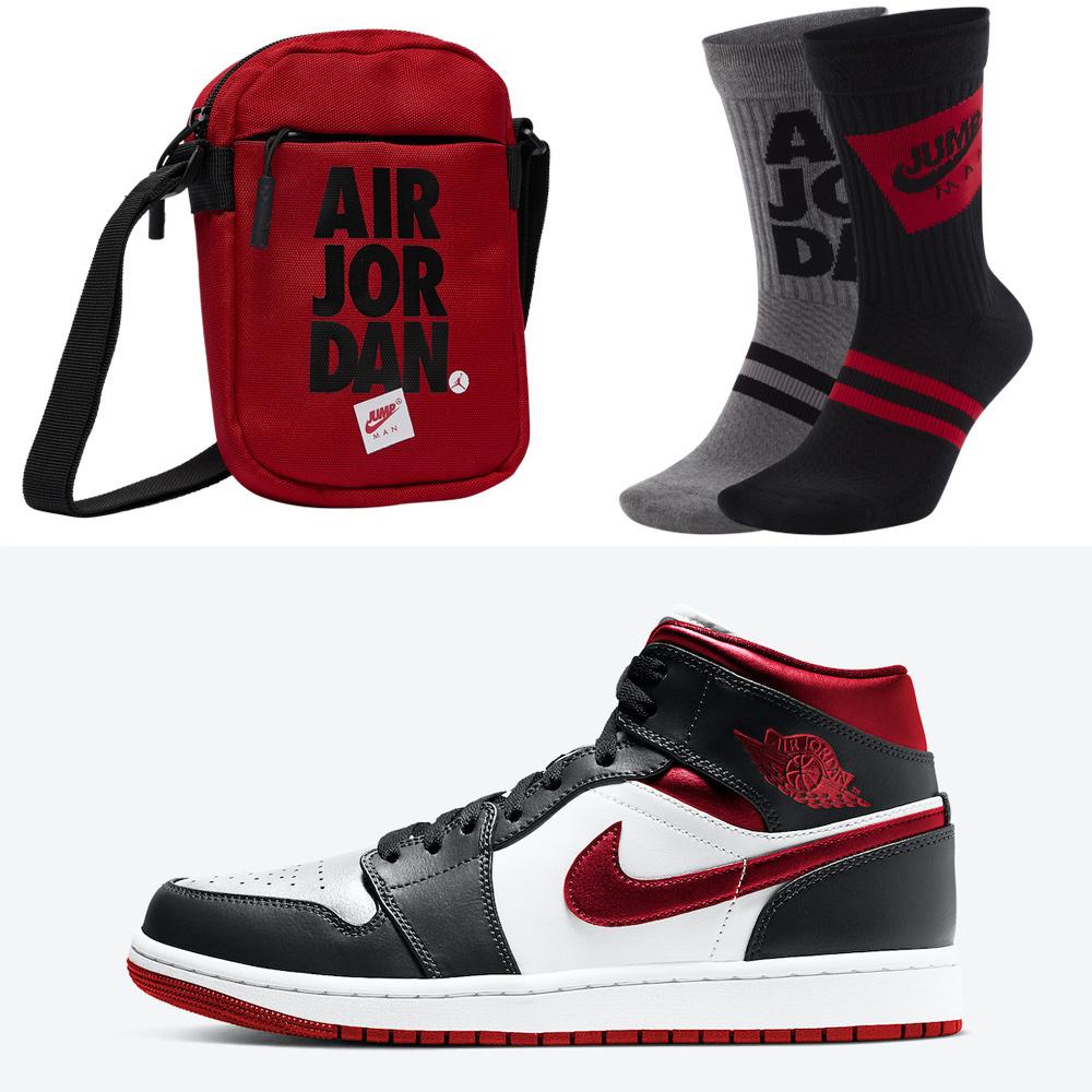 air-jordan-1-mid-metallic-gym-red-socks-bags