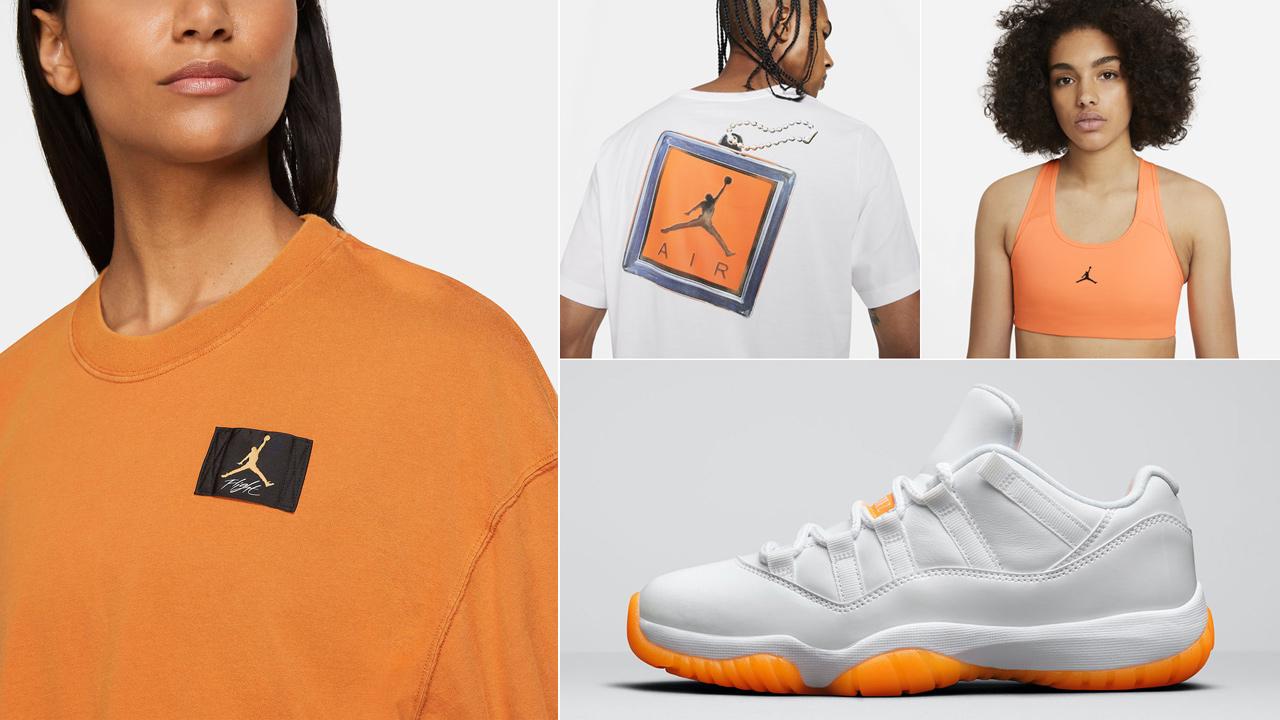 air-jordan-11-low-bright-citrus-clothing-match