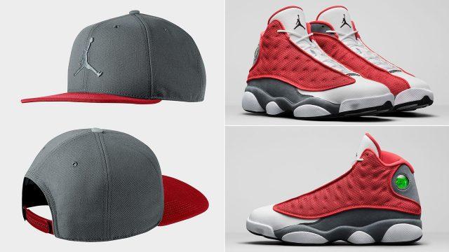 air-jordan-13-red-flint-hat