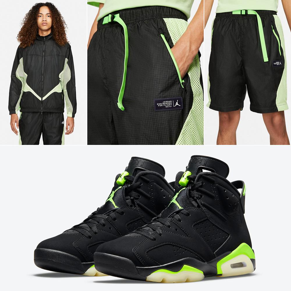 air-jordan-6-electric-green-apparel-match
