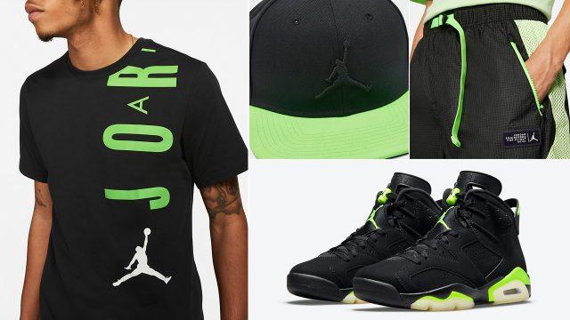 air-jordan-6-electric-green-shirt-hat-clothing