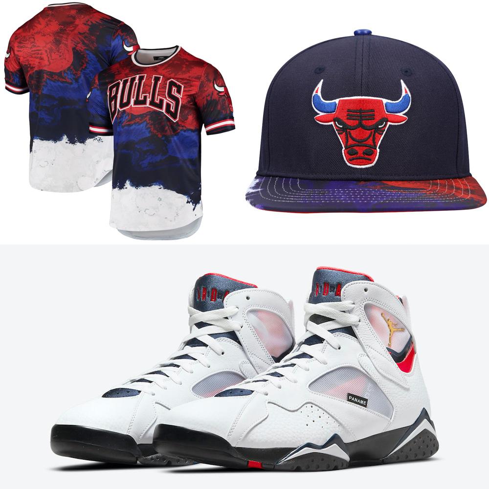 air-jordan-7-psg-bulls-shirt-hat-outfit