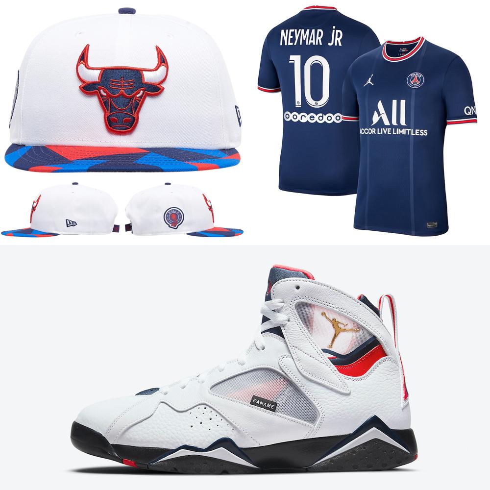 air-jordan-7-psg-hat-shirt-clothing-match