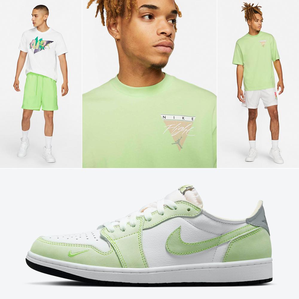 jordan-1-low-ghost-green-shirt-clothing-match