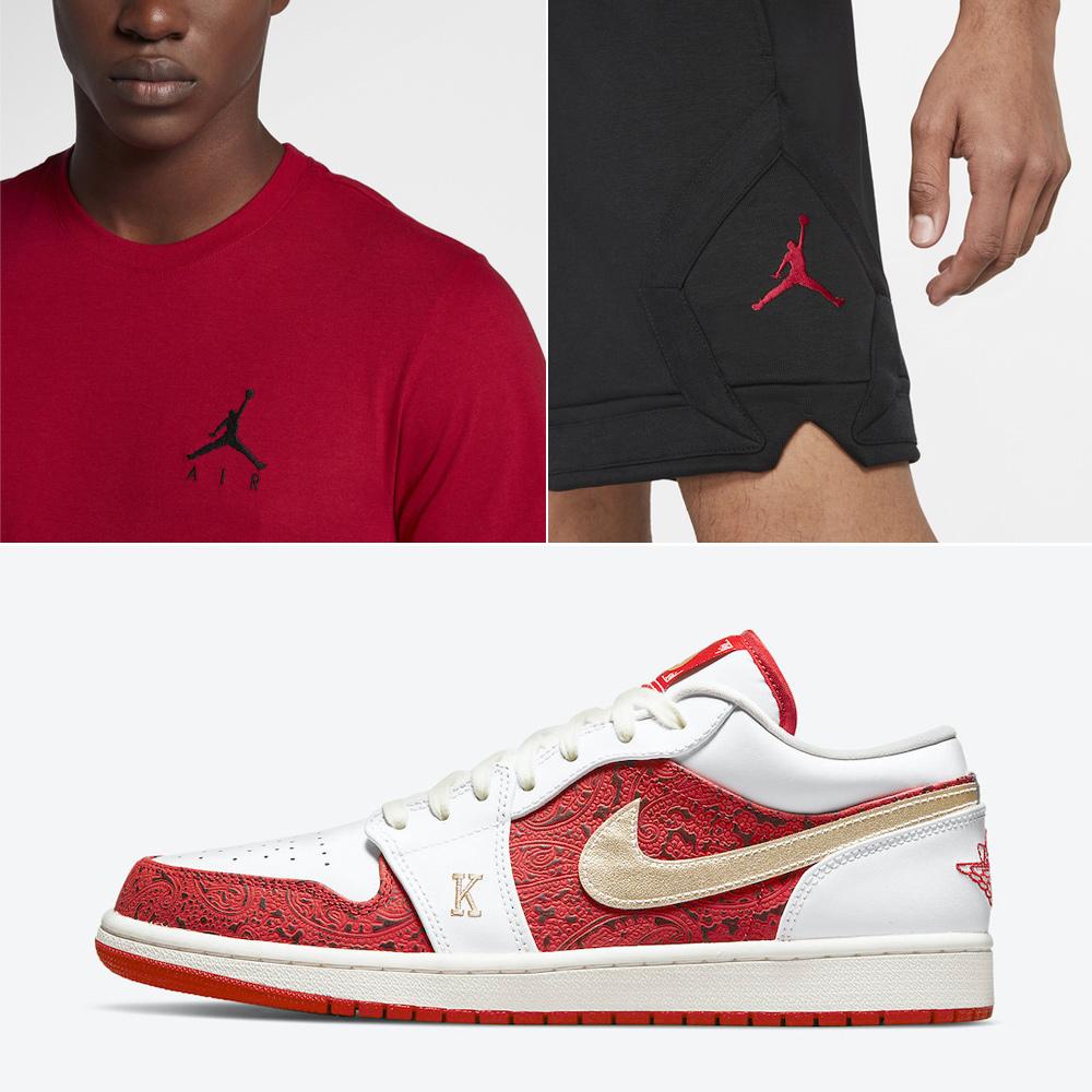 jordan-1-low-spades-t-shirt-shorts-outfit