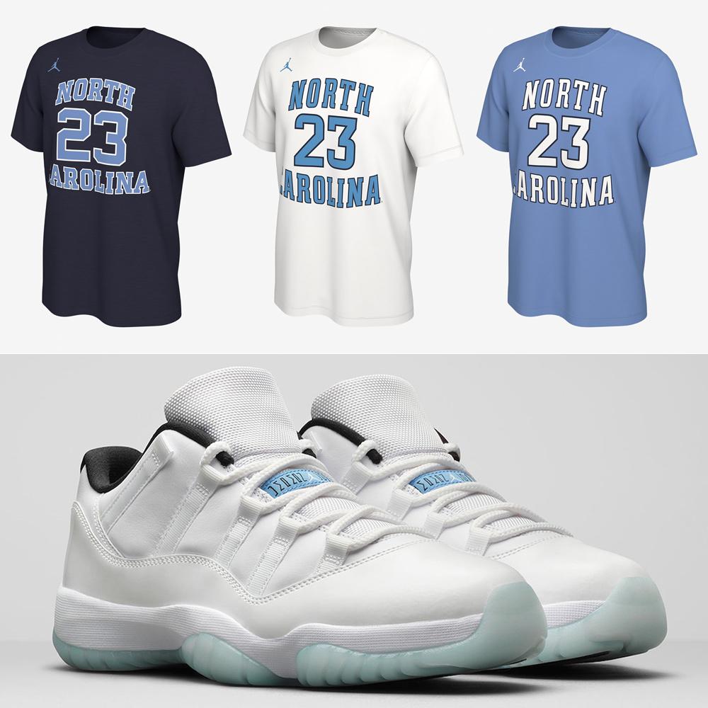 jordan-11-low-legend-blue-michael-jordan-shirts