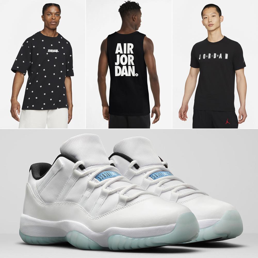 jordan-11-low-legend-blue-shirts
