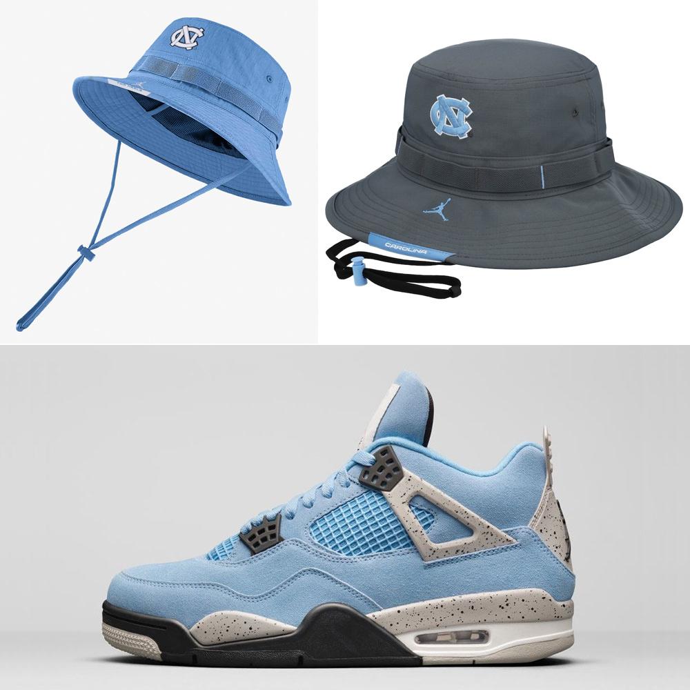 jordan-4-university-blue-bucket-hat-match