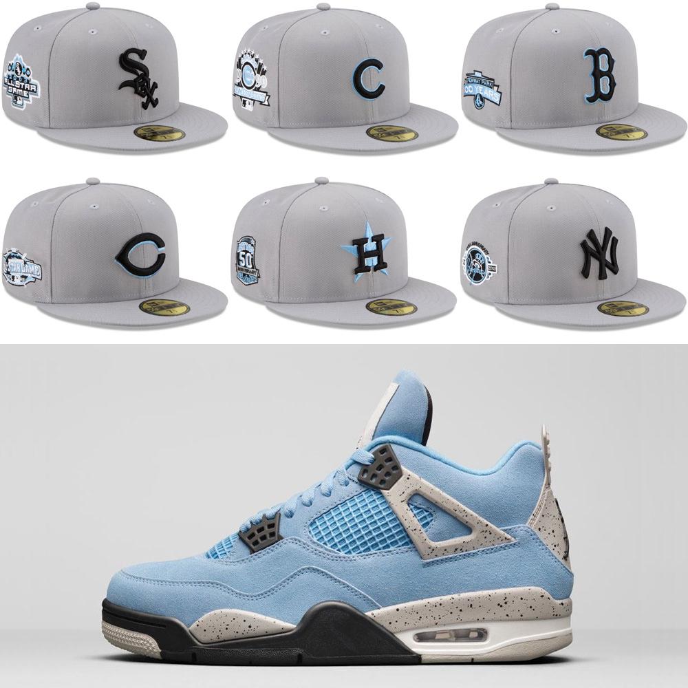 jordan-4-university-blue-grey-fitted-hats