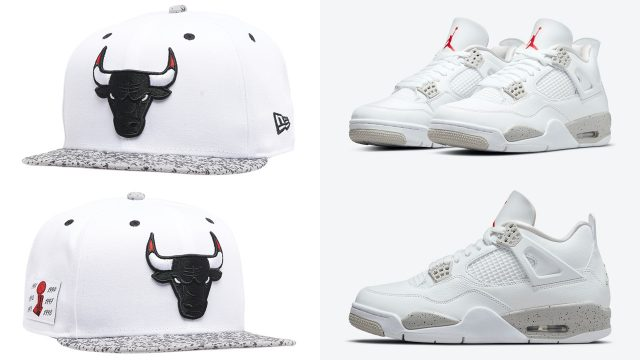 jordan-4-white-oreo-tech-grey-bulls-hat