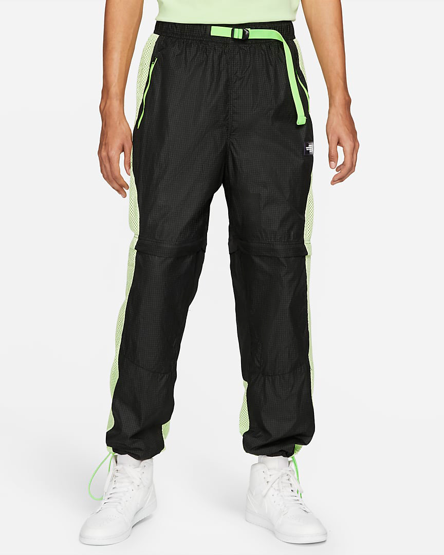jordan-6-black-electric-green-pants-shorts-1