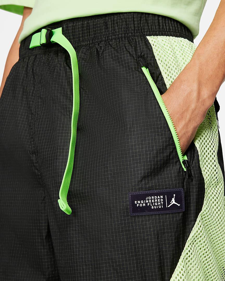 jordan-6-black-electric-green-pants-shorts-3