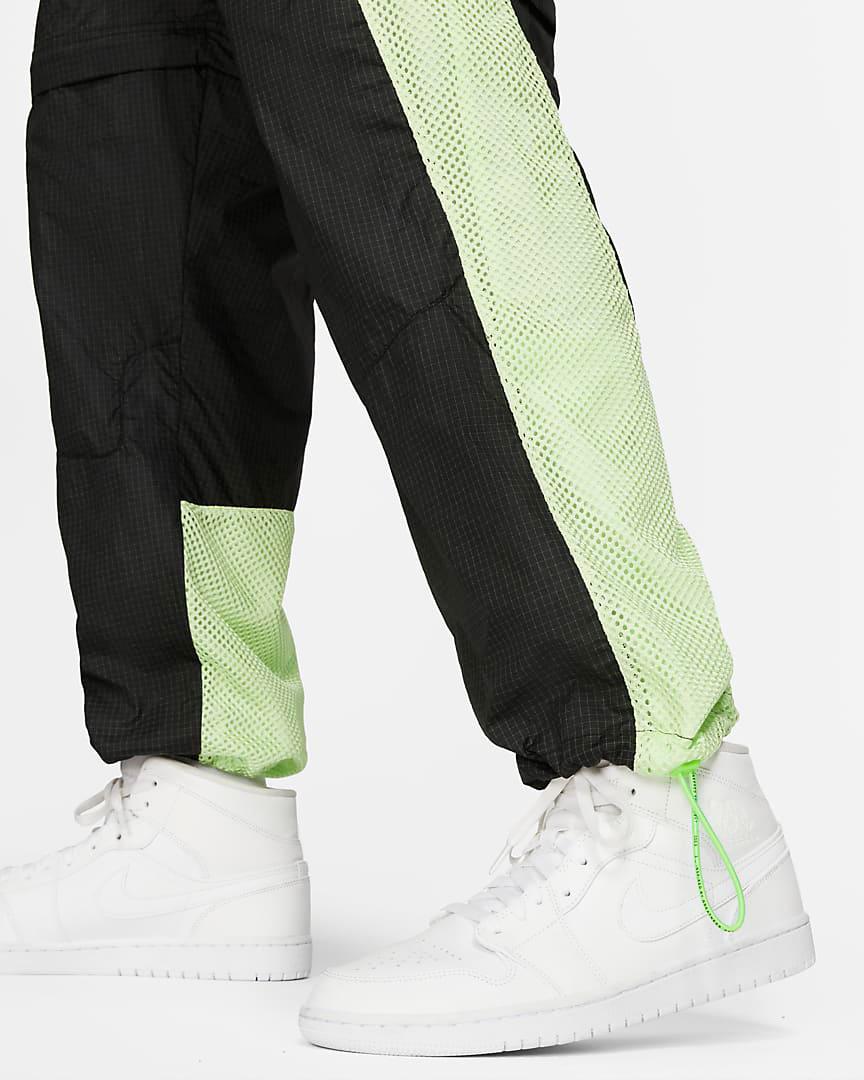 jordan-6-black-electric-green-pants-shorts-6