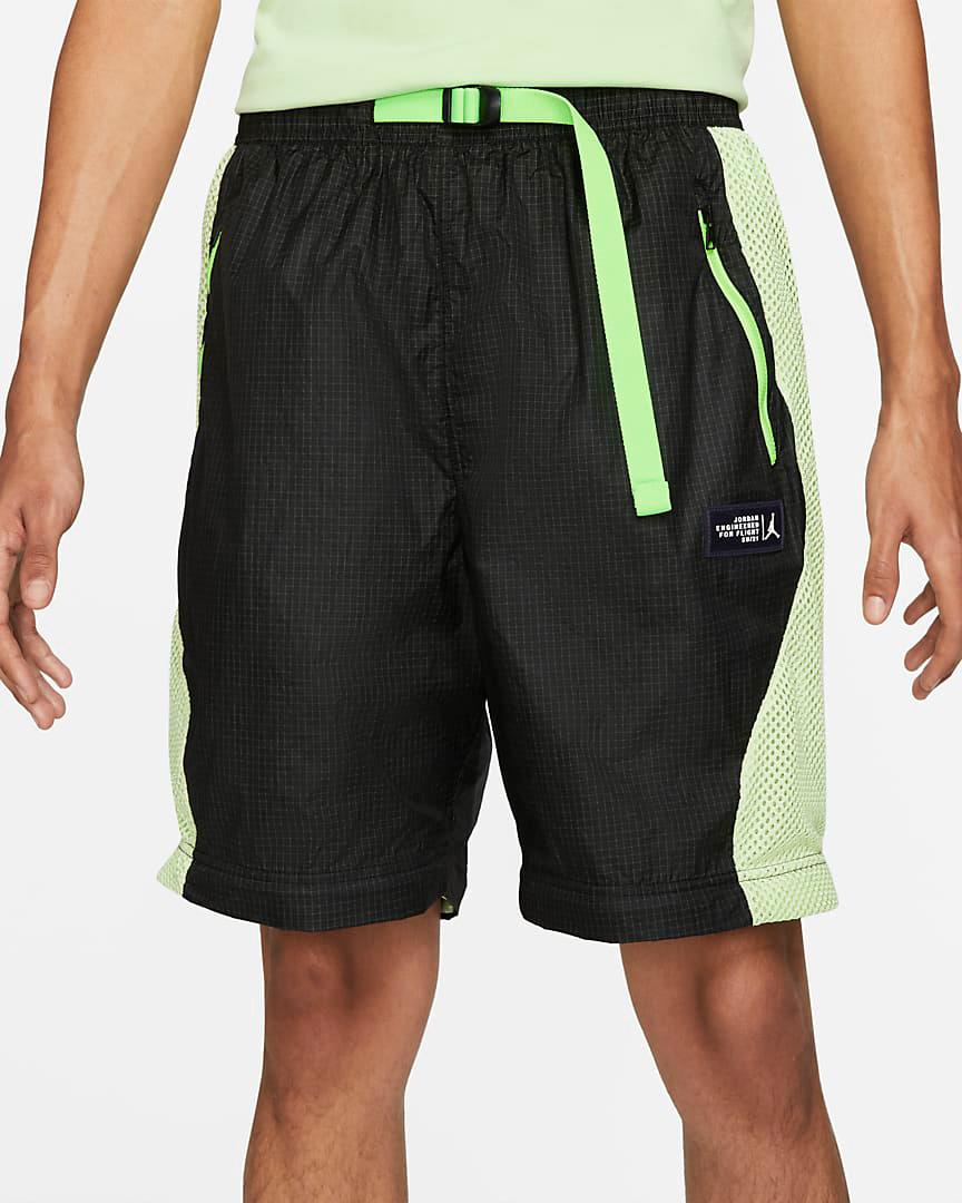 jordan-6-black-electric-green-shorts