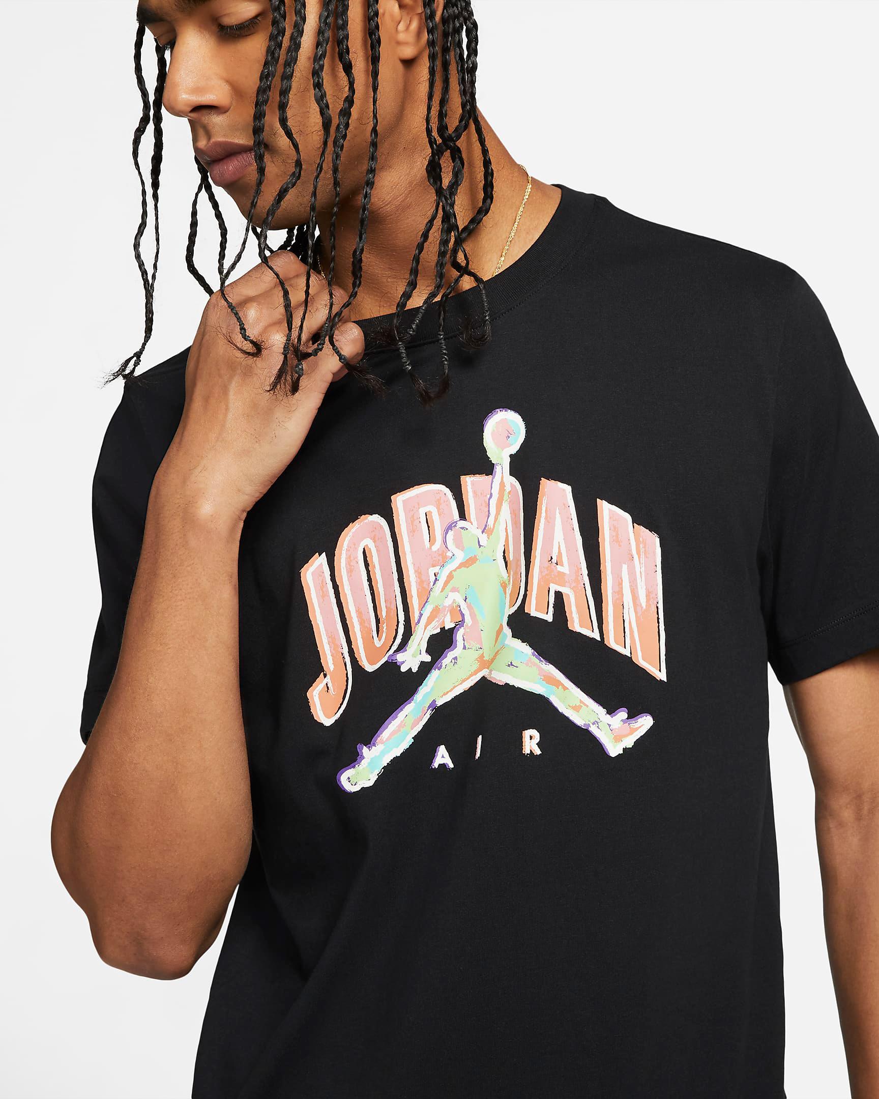 jordan-air-t-shirt-black-arctic-orange-ghost-green