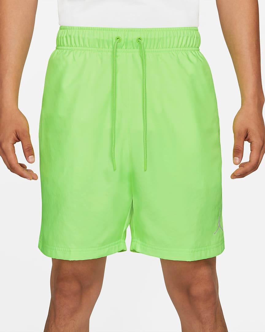 jordan-electric-green-poolside-shorts-1