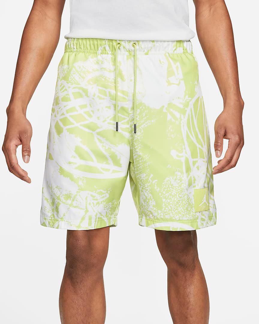 jordan-ghost-green-printed-poolside-shorts-1