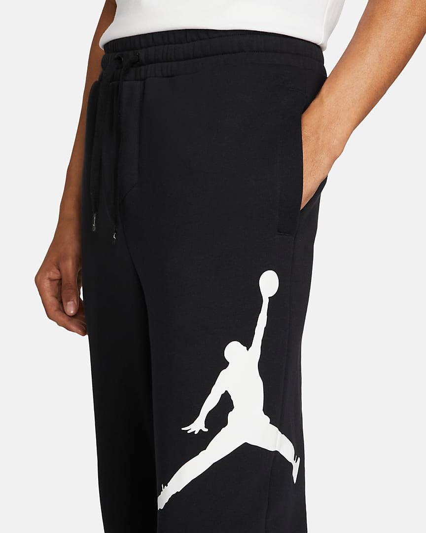 jordan-jumpman-logo-fleece-pants-black-white-2