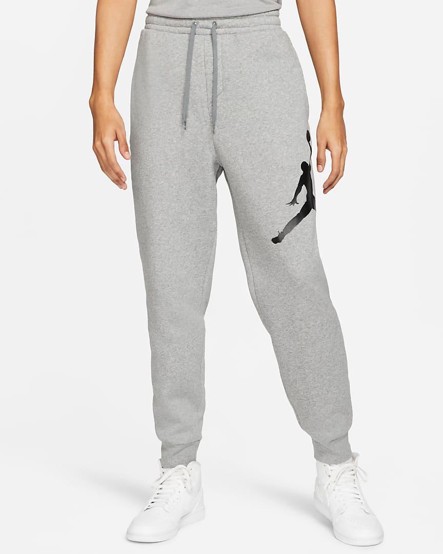 jordan-jumpman-logo-fleece-pants-grey-black-1