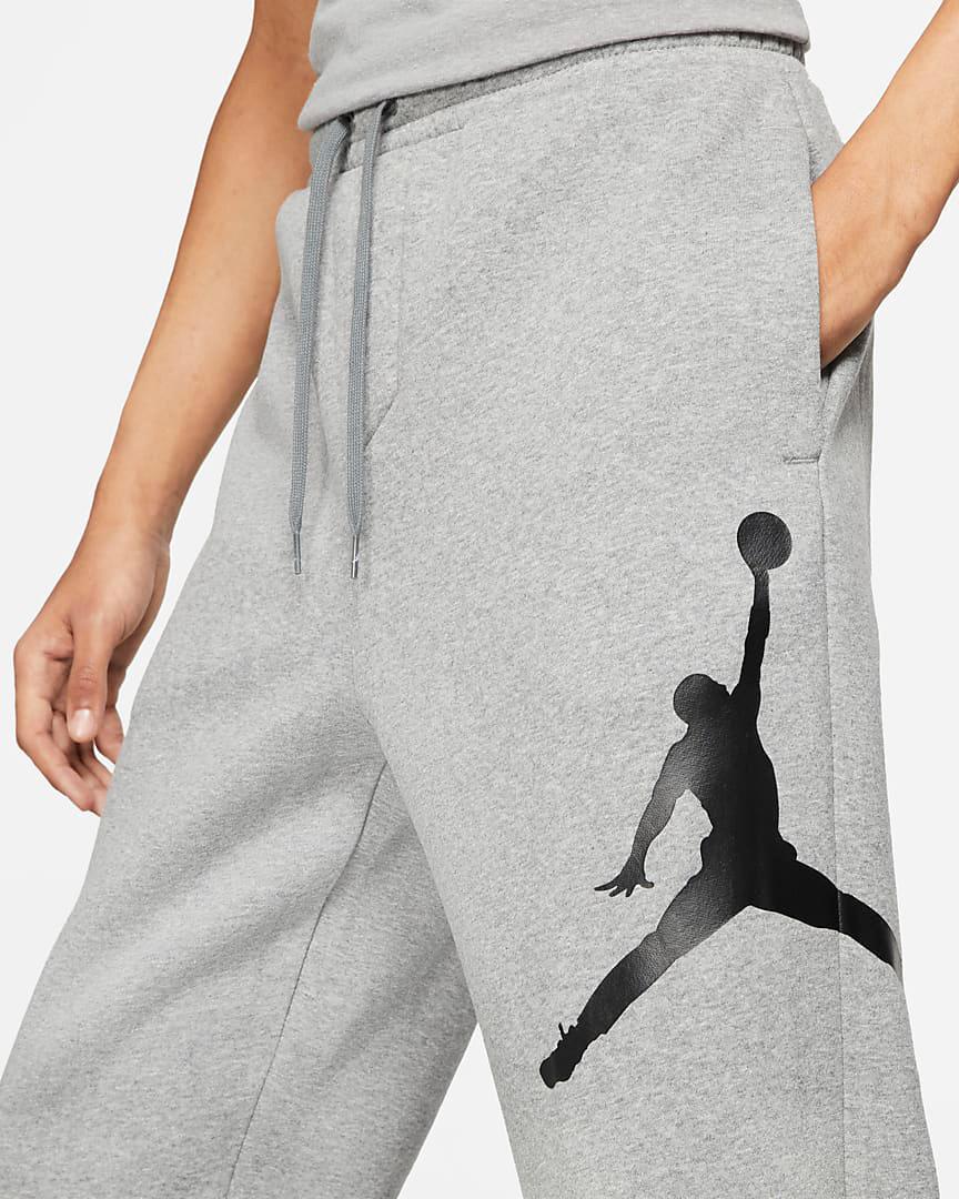 jordan-jumpman-logo-fleece-pants-grey-black-2