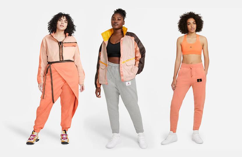 jordan-womens-orange-apricot-peach-apparel
