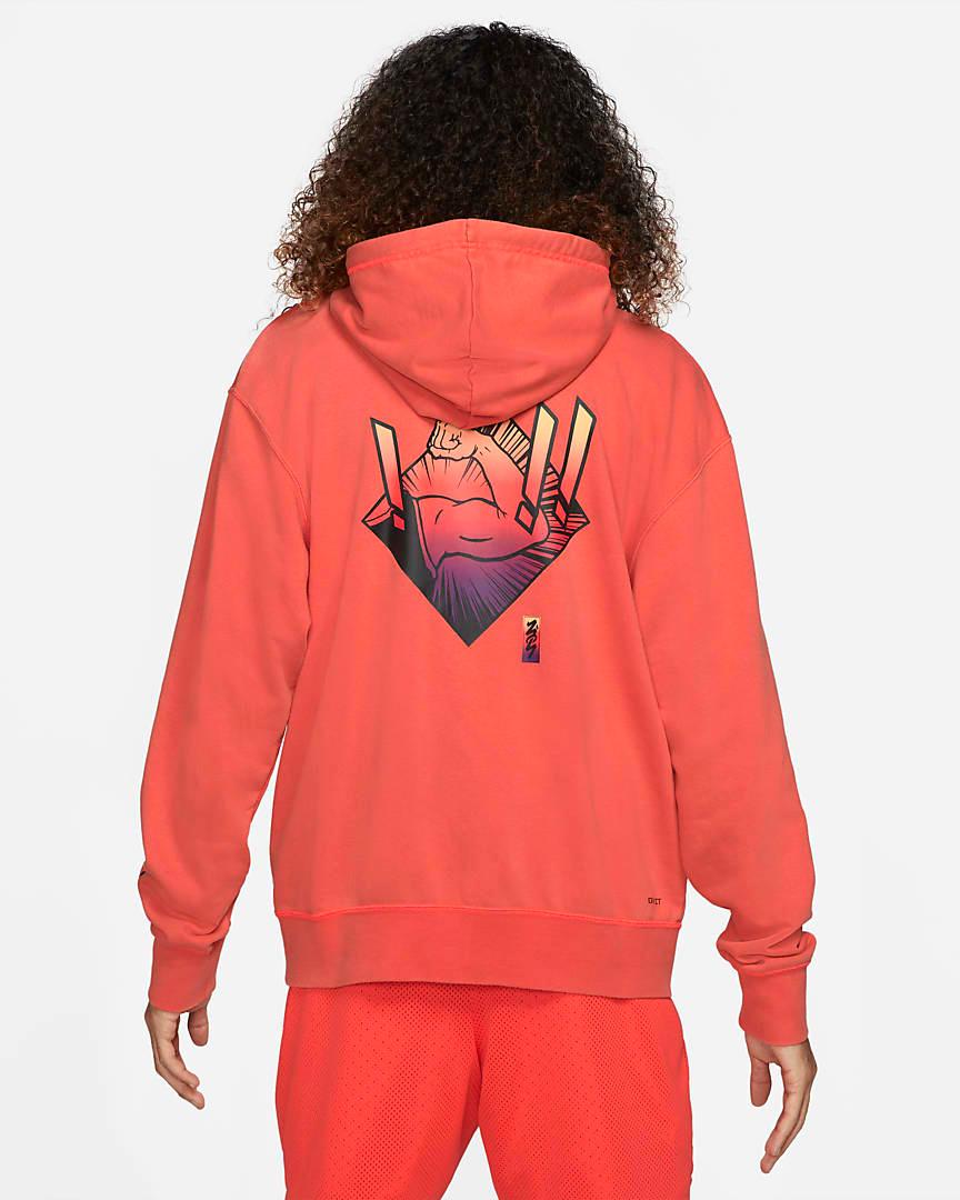 jordan-zion-1-zna-bright-crimson-hoodie-2