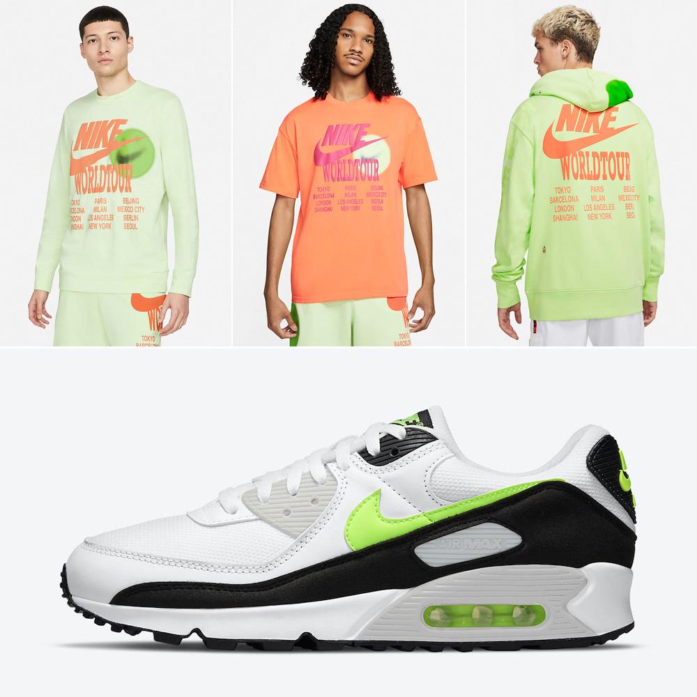 nike-air-max-90-hot-lime-apparel-match