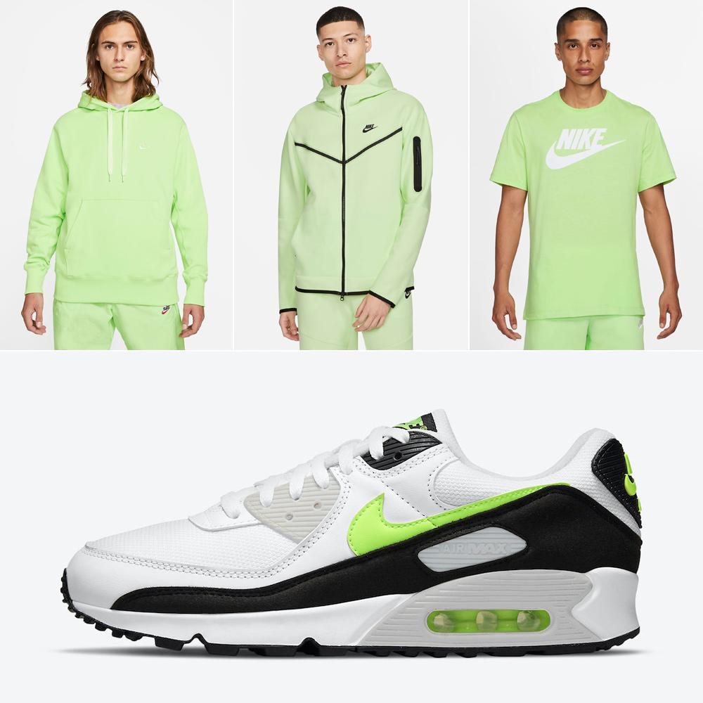 nike-air-max-90-hot-lime-shirt-clothing-match