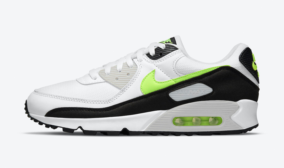 nike-air-max-90-hot-lime-sneaker-clothing-match