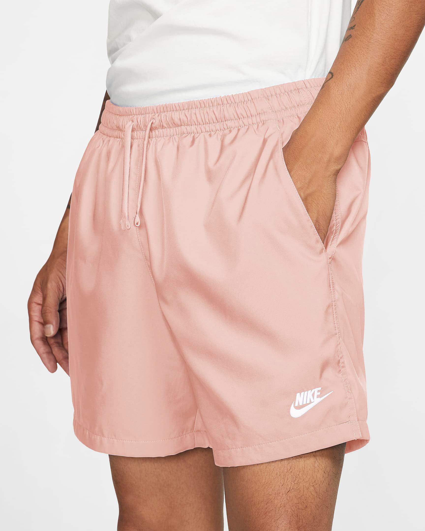nike-arctic-orange-woven-shorts