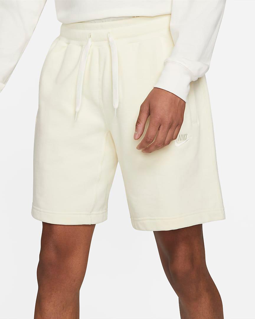 nike-coconut-milk-classic-fleece-shorts