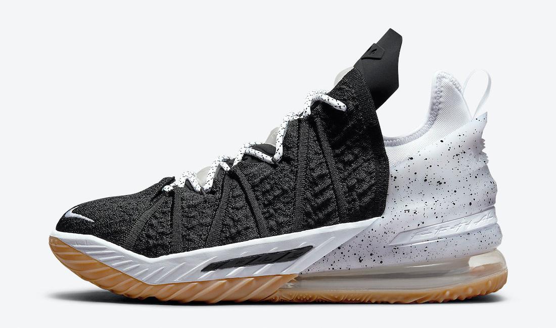 nike-lebron-18-black-gum-oreo-sneaker-clothing-match