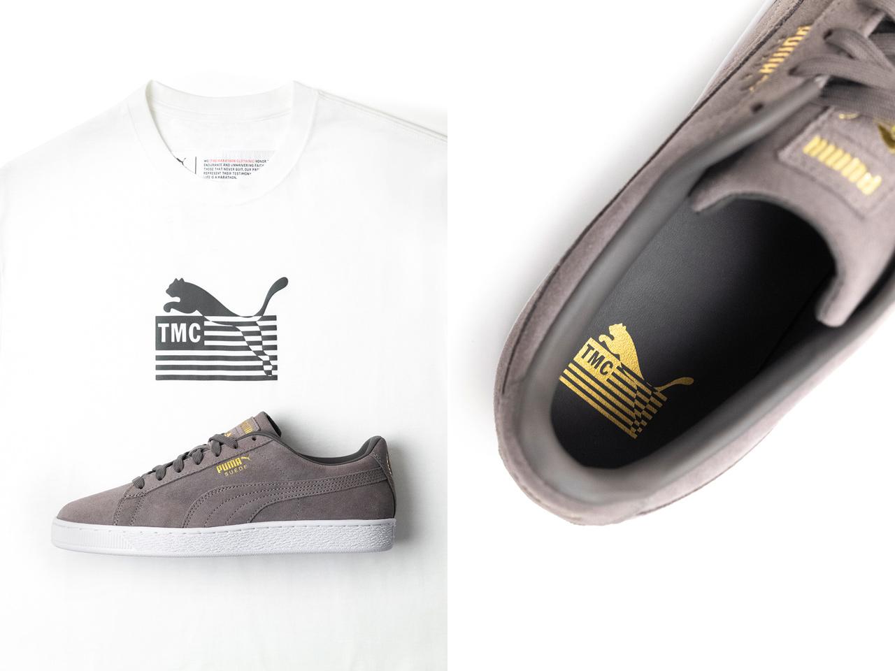nipsey-hussle-tmc-puma-suede-shoes-shirt