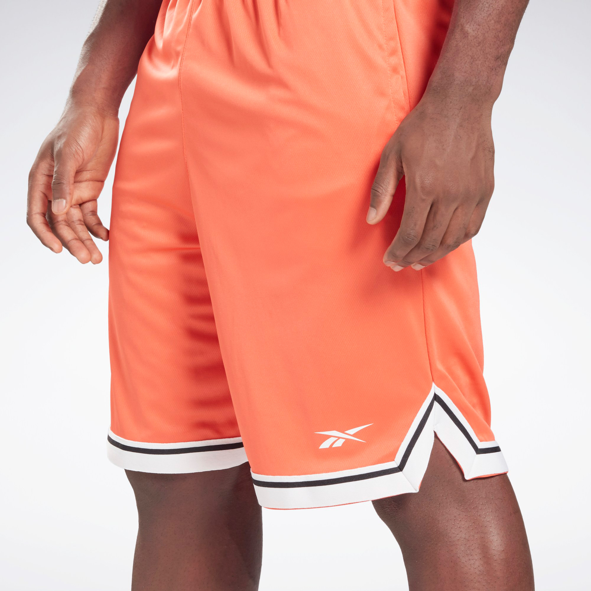 reebok-classics-orange-basketball-shorts