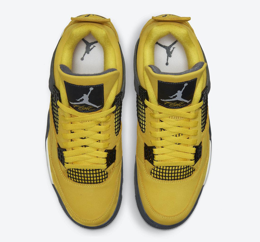 Air-Jordan-4-Lightning-Tour-Yellow-CT8527-700-2021-Release-Date-3