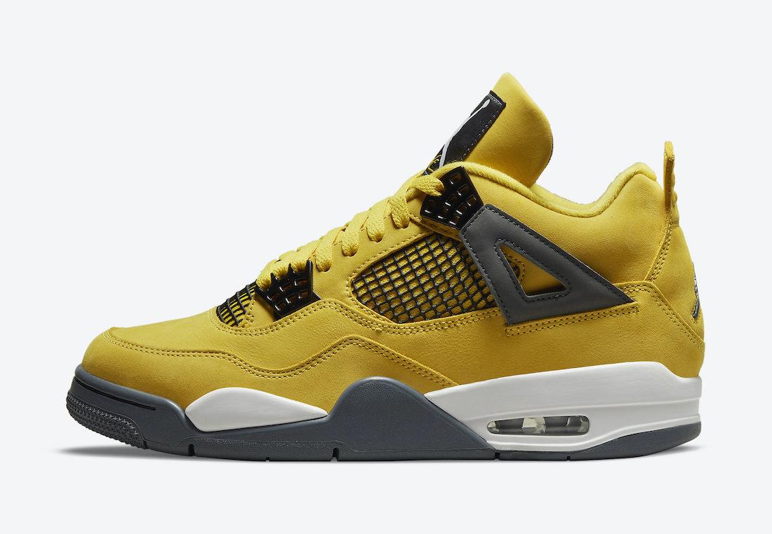 Air-Jordan-4-Lightning-Tour-Yellow-CT8527-700-2021-Release-Date