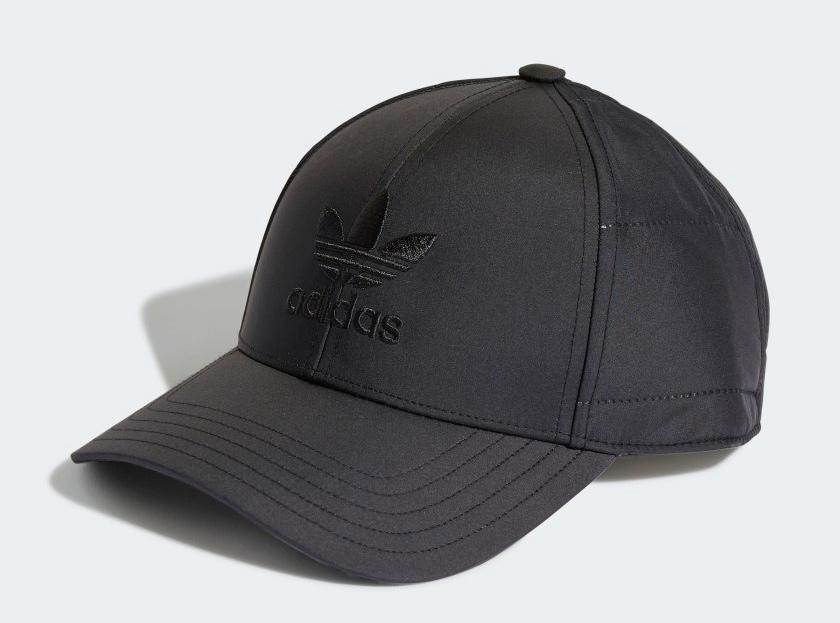 adidas winterized trefoil baseball cap black