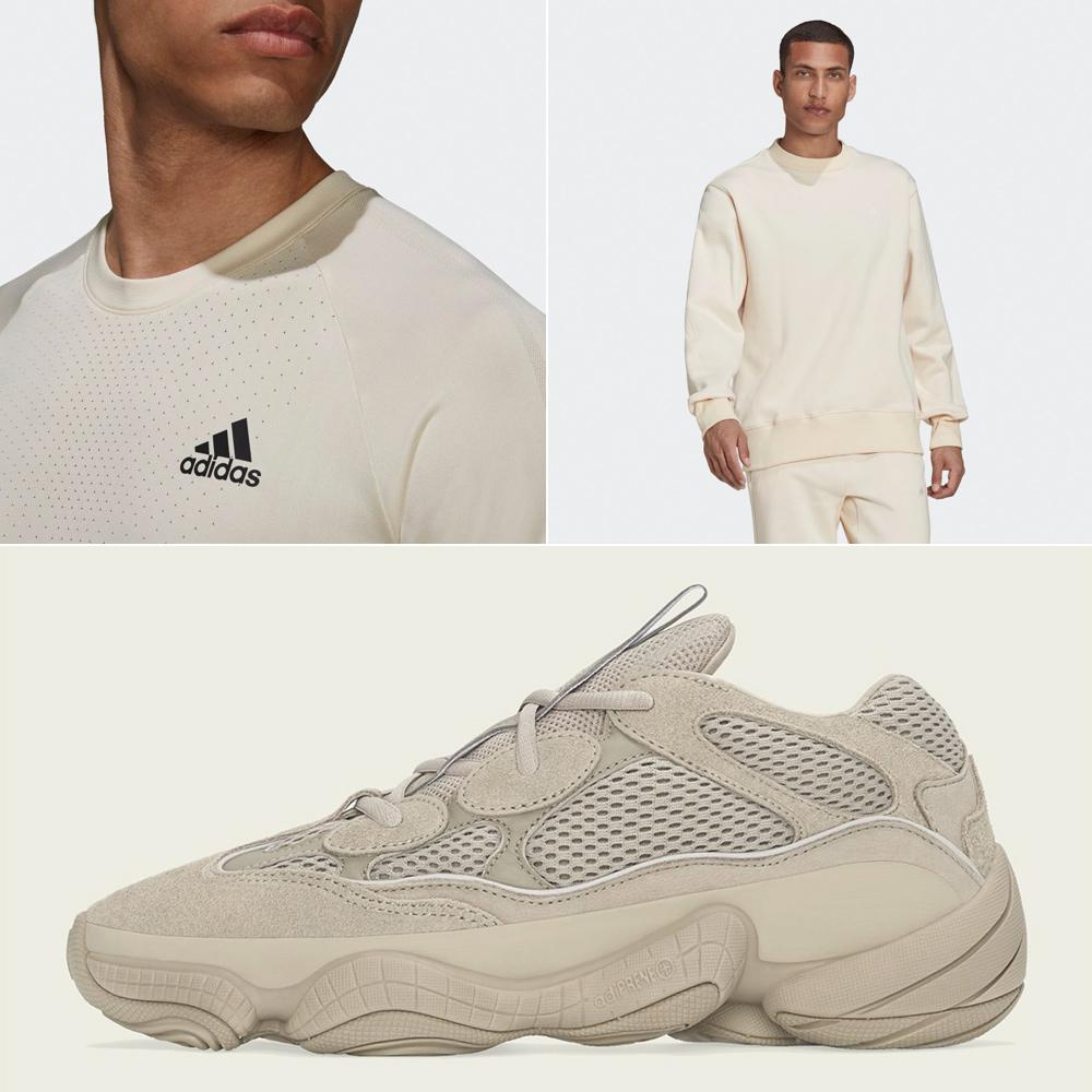 adidas-yeezy-500-taupe-light-shirt-clothing-match