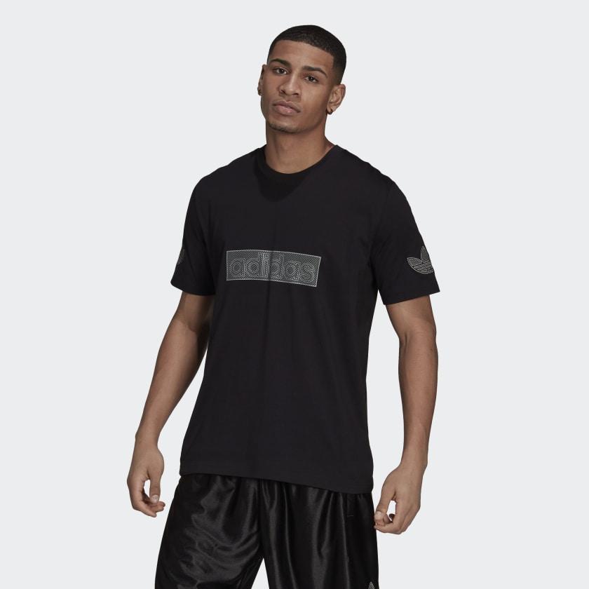 adidas SPRT Logo Tee Black H06746 21 model