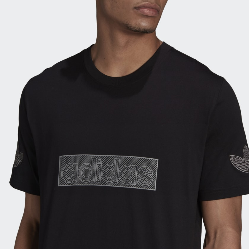 adidas SPRT Logo Tee Black H06746 41 detail