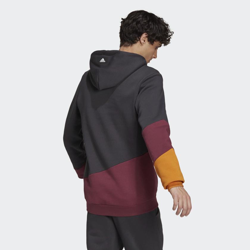 adidas Sportswear Colorblock Hoodie Grey H39767 23 hover model
