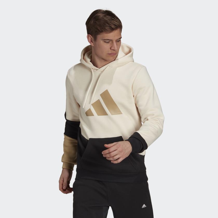 adidas Sportswear Colorblock Hoodie White H39765 21 model