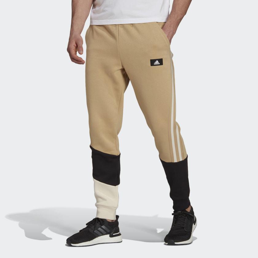 adidas Sportswear Colorblock Pants Beige H39762 21 model