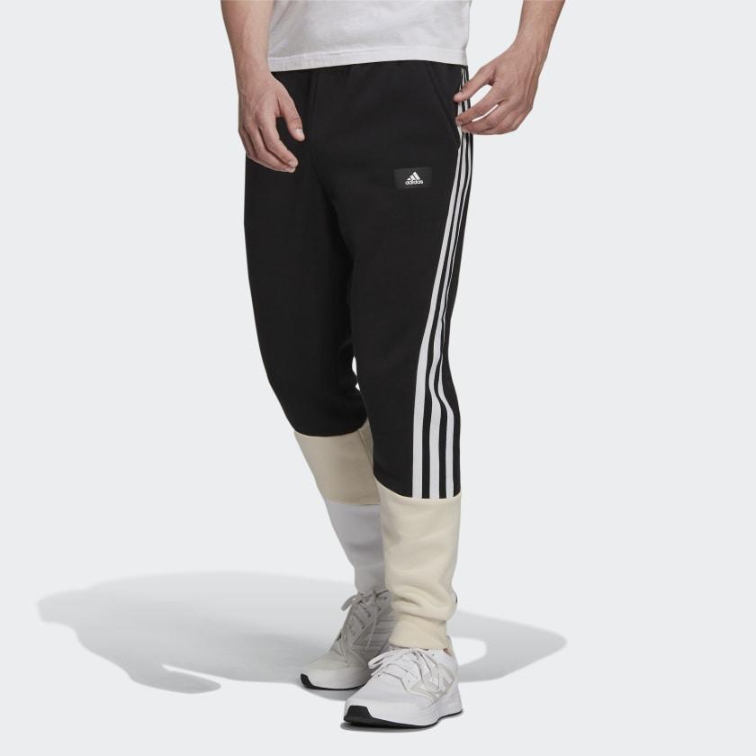 adidas Sportswear Colorblock Pants Black HB7392 21 model