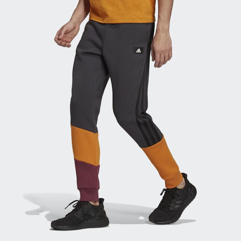 adidas Sportswear Colorblock Pants Grey H39763 21 model