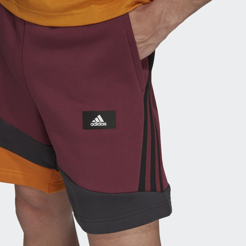 adidas Sportswear Colorblock Shorts Red H39770 41 detail